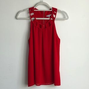 Naked Zebra Red Top Size Small